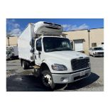 2015 Freightliner M2 16' refrigerated truck, 25500 GVW, 87584 Miles, VIN# 1FVACWDU7FHGN4748, with