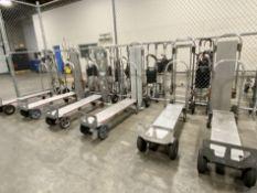 Lot of (2) Magliner Gemini aluminum convertible hand truucks, 1,000 lb. capacity