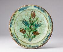 Arte Islamica An Iznik pottery dish Ottoman Turkey, 17th century .