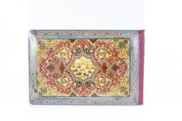 Arte Islamica Album with a Safavid style papier machè colourful coverPersia, early 20th century .