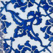 Arte Islamica A Dome of the Rock pottery tile Ottoman Empire, 16th century .
