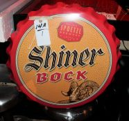 Shiner Bock Sign