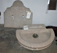 CARVED STONE FOUNTAIN