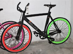 NEW VELOCE FIXIE BICYCLE - BLACK