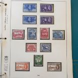 An album of Commonwealth Omnibus issues, with 1946 Victory, 1953 Coronation and 1954 Royal Visit
