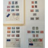 A group of Australian stamps, a 1930-64 written up complete used collection including Sydney