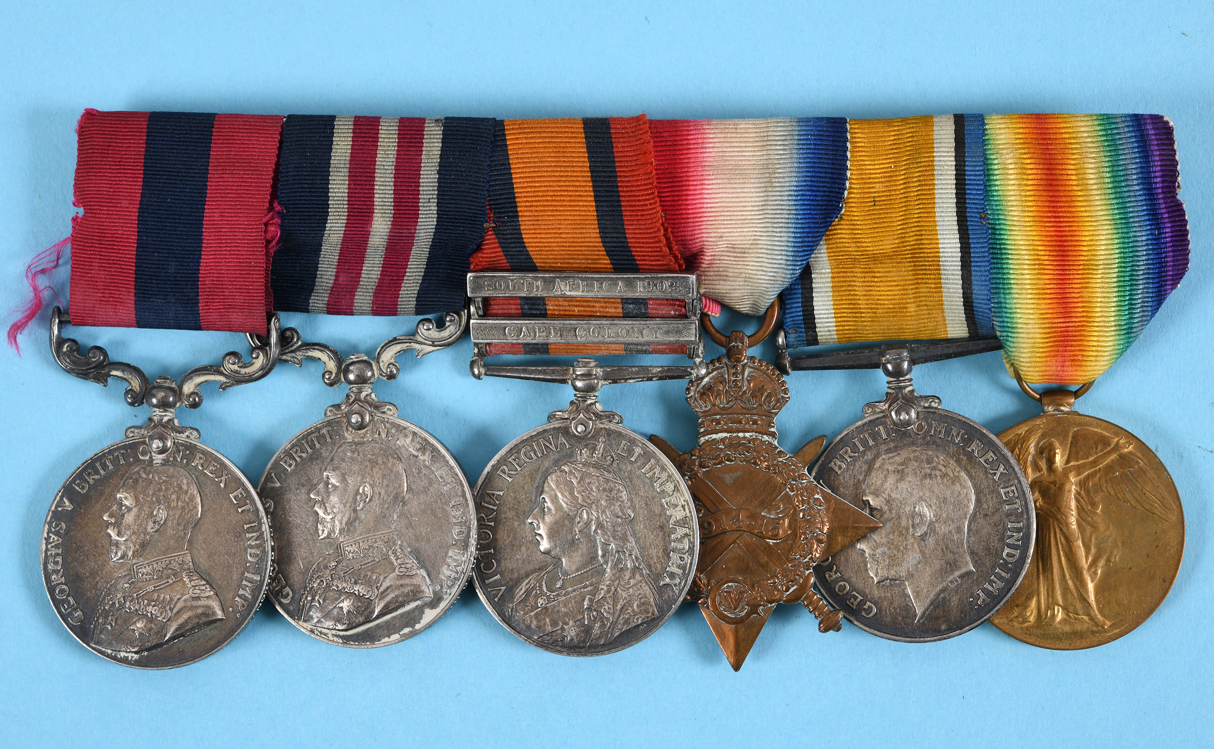 A double gallantry group of six medals, awarded to 18700 CS MJR-ARS MJR A Richardson 9/North'd