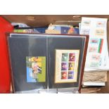 REVISED ESTIMATE: Assorted presentation packs, mini sheets and other items, loose and in albums (
