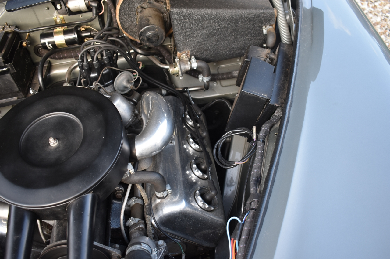 Lot 10 - A 1965 Daimler V8 250 Registration number DYJ 955C V5C Gun metal with a maroon leather interior