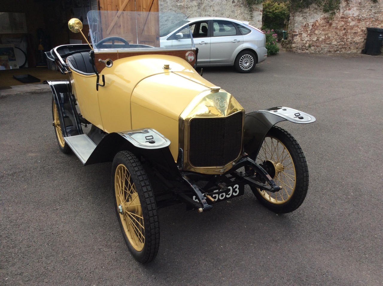 Lot 13 - A 1914 Le Zebre Model C Registration number BF 5893 Chassis number 3965 Engine number K105 V5C