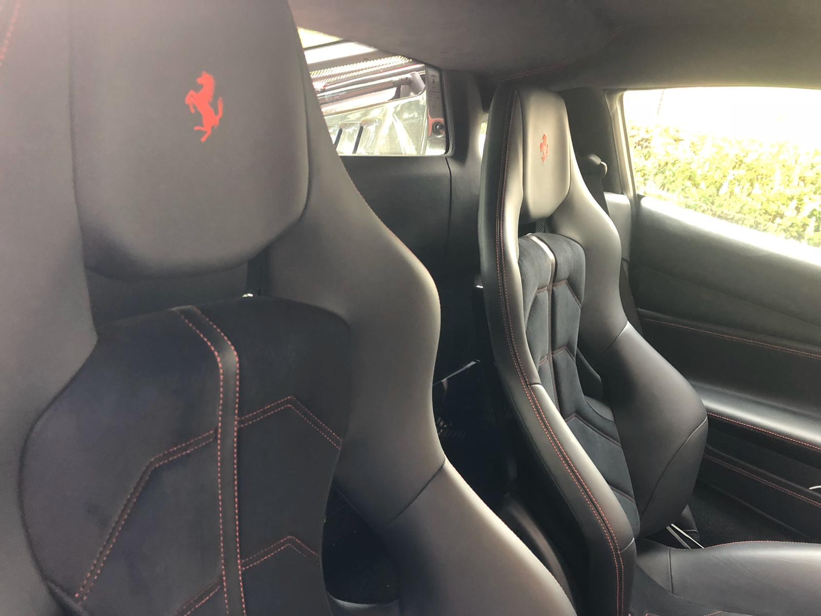 Lot 24 - A 2017 Ferrari 488 GTB Registration number WO17 XWW Unique Rosso Fuoco 3 layer paint First MOT due