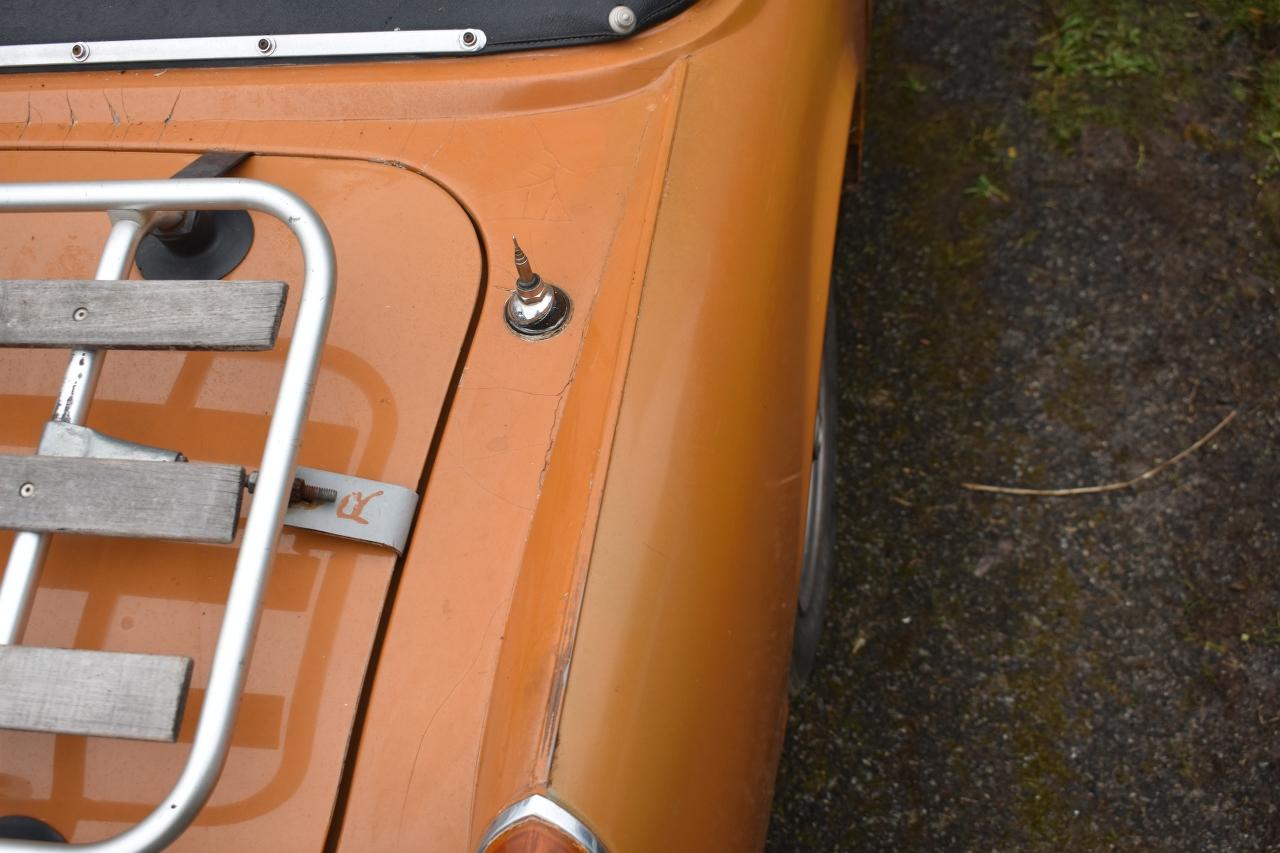 Lot 7 - A 1974 MG Midget 1275 Registration number RAF 89M Chassis number GAN5-04567G Engine number 1389