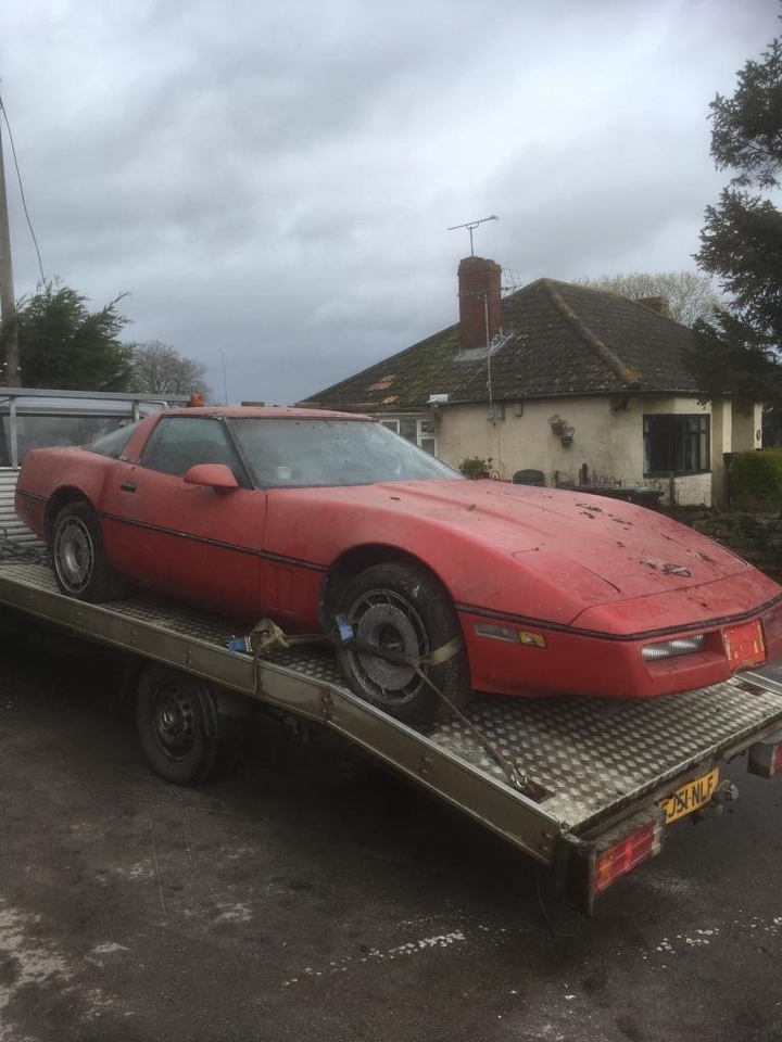 Lot 9 - A 1983 Chevrolet Corvette C4 Registration number A541 OEL Chassis number IGIAY0784E5128138 Red and