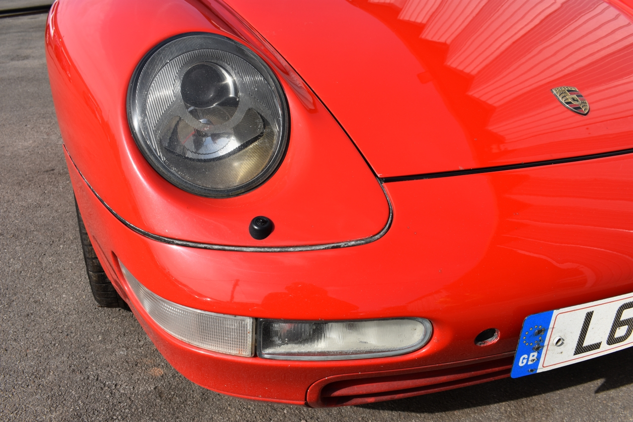 Lot 12 - A 1993 Porsche 911 (993) Carrera Coupe Registration number L611 HEN Chassis number WPOZZZ99ZRS311060