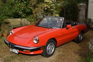 Lot 20 - A 1985 Alfa Romeo Spider 3 Registration number A20 LFA Chassis number ZAR8A5417F1021233 Red with