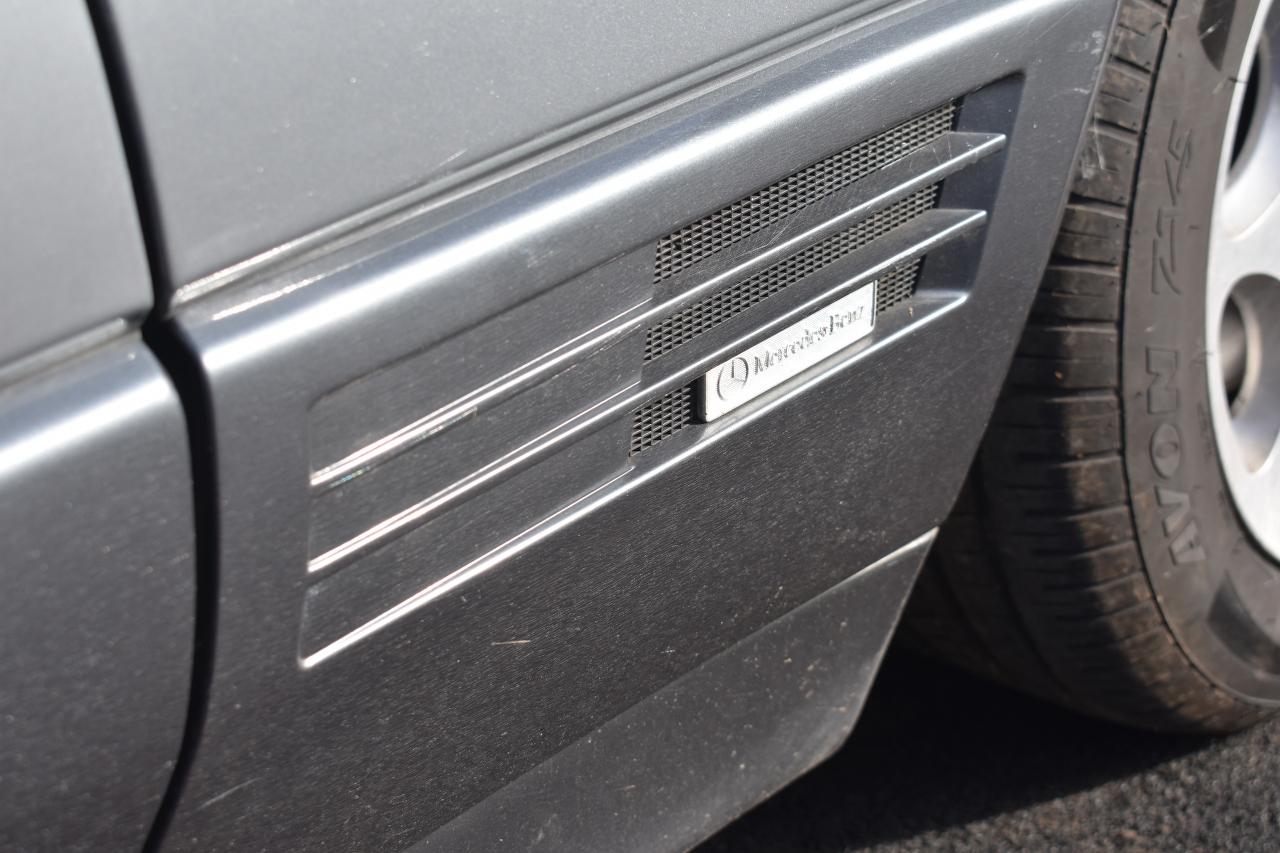 Lot 1 - A 1991 Mercedes-Benz 300 SL-24 Registration number H681 HKJ Grey and black leather V5C MOT expires