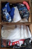 Assorted motorcycle and motor sport related new/old stock t-shirts, various sizes and designs (2