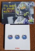 The rare Valentino Rossi & Yamaha, 2004-2010, its been a great race!, outlining Rossi's career