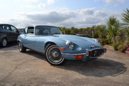 A 1971 Jaguar E-Type Series III 2+2 Coupe Registration number FMW 576J Chassis number 1S 71009