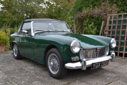A 1969 MG Midget Registration number YGX 130G V5C British Racing Green Purchased by the vendor in