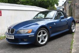 A 1999 BMW Z3 Roadster 2.8 Registration number T239 VVX Chassis number WBADM32000LE92600 Engine