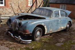 A 1960 Jaguar 2.4 Registration number BYC 623B V5 Manual A barn stored project, parts or donor car
