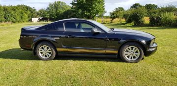 A 2007 Ford Mustang