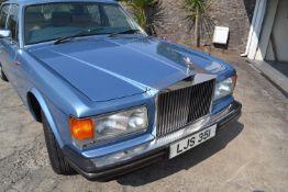 A 1986 Rolls-Royce Silver Spirit Registration number LJS 351 V5C MOT expires December 2020 Under