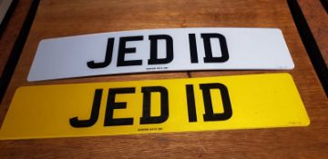 A registration number, JED ID (JEDI D ideal for the Star Wars fan), on retention