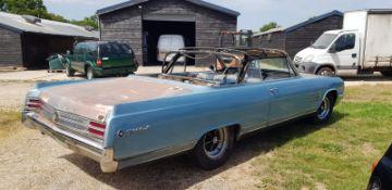 A 1964 Buick Wildcat Convertible