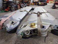 A pair of ex-RAF Tornado wings