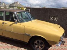 A 1974 Rover P6 3500S