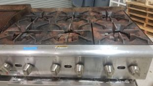 CECILWARE PRO 18092302 6 BURNER COMMERCIAL GAS GRILL