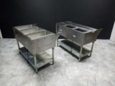 COMMERCIAL DUAL WARMING FOOD STATION