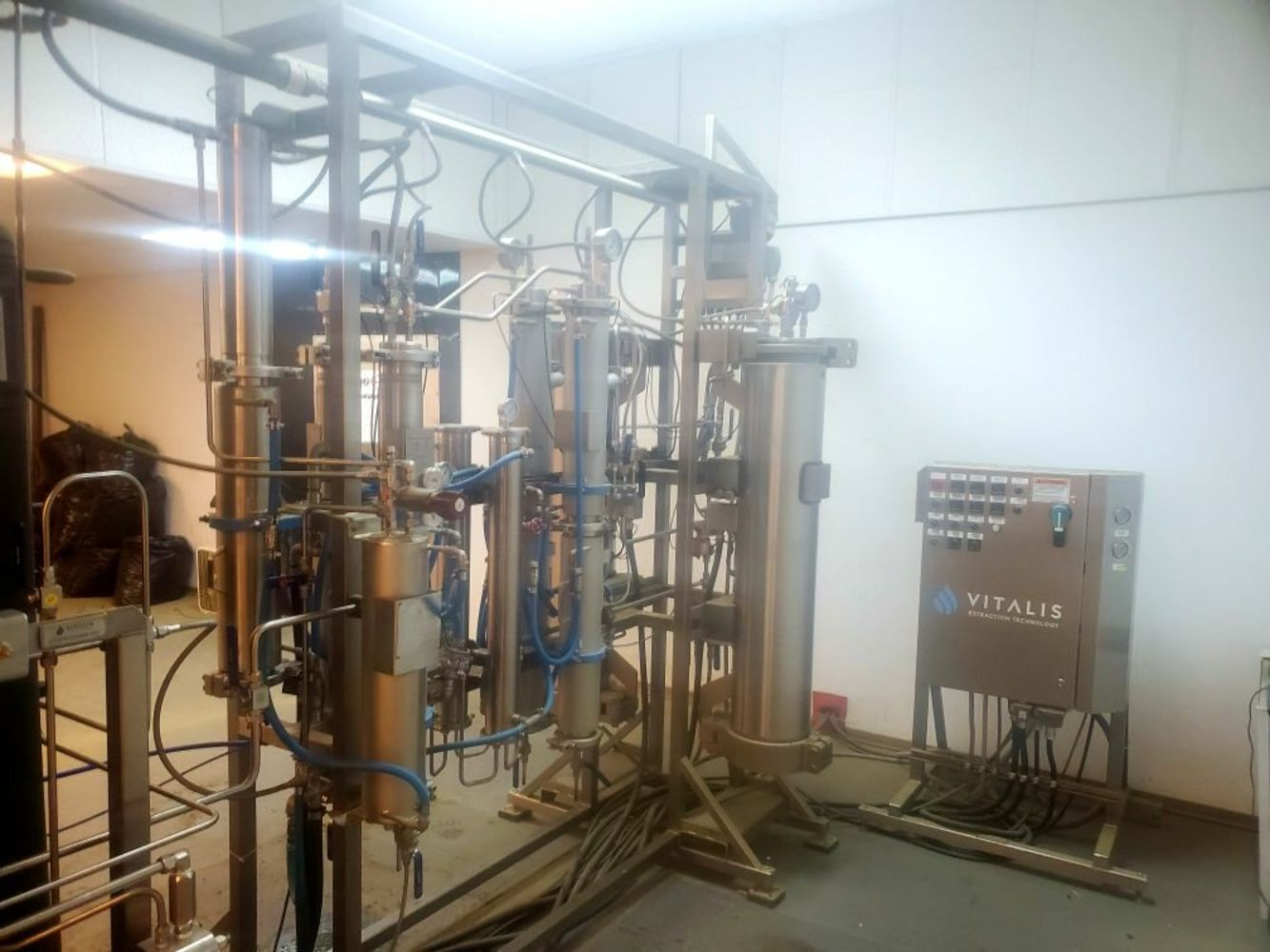 Used Vitalis Q90 CO2 Supercritical Fluid Extraction System – By The Order of the Leasing Company.