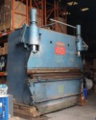 (LOT FOR THURSDAY 28TH MAY AUCTION 12 NOON) 10' PEARSON 280T BRAKE PRESS YEAR 1987 - NO VISIBLE