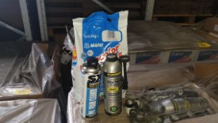 (LOT FOR THURSDAY 28TH MAY AUCTION 12 NOON) TRAVIS PERKINS TRADE LOT ON A PALLET - IE. 96 X MAPEI