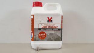 20 X 3V3 2.5 LITRE PREPARATION GLUE STRIPPER - FOR CARPET OR VINYL FLOORING