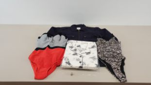MIXED LOT CONTAINING 40 X PIECES OF CLOTHING IN VARIOUS STYLES AND SIZES IE ONLY AND SONS 4 POCKET