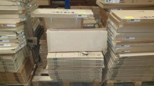 (LOT FOR THURSDAY 28TH MAY AUCTION 12 NOON) B & Q TRADE LOT ON A PALLET - APPROX 60 KITCHEN DOOR