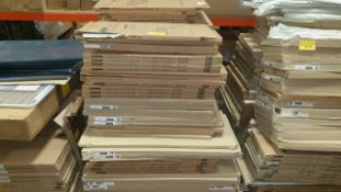 (LOT FOR THURSDAY 28TH MAY AUCTION 12 NOON) B & Q TRADE LOT ON A PALLET - APPROX 80 KITCHEN DOOR