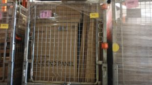 (LOT FOR THURSDAY 28TH MAY AUCTION 12 NOON) B & Q TRADE LOT IN METAL PALLET CAGE (NOT INC IN LOT
