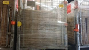 (LOT FOR THURSDAY 28TH MAY AUCTION 12 NOON) B & Q TRADE LOT IN METAL PALLET CAGE (NOT INC IN LOT -