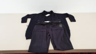 29 X MANGO RIPPED DUNGAREES AND MANGO KNITTED CARDIGANS IN VARIOUS SIZES
