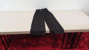 10 X BRAND NEW VERA MODA WOMENS BLACK PANTS SIZE MEDIUM
