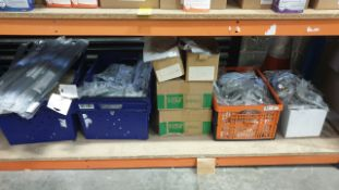 (LOT FOR THURSDAY 28TH MAY AUCTION 12 NOON) B & Q TRADE LOT ON ONE SHELF - LARGE QTY OF SOFT DOOR