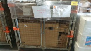 (LOT FOR THURSDAY 28TH MAY AUCTION 12 NOON) B & Q TRADE LOT IN METAL PALLET CAGE (NOT INC IN LOT)