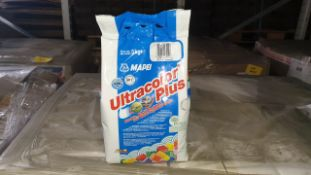 (LOT FOR THURSDAY 28TH MAY AUCTION 12 NOON) TRAVIS PERKINS TRADE LOT ON A PALLET - IE. 144 X MAPEI
