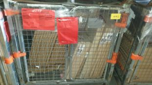 (LOT FOR THURSDAY 28TH MAY AUCTION 12 NOON) B & Q TRADE LOT IN METAL PALLET CAGE (NOT INC IN LOT)-