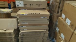 (LOT FOR THURSDAY 28TH MAY AUCTION 12 NOON) B & Q TRADE LOT ON A PALLET - APPROX 70 KITCHEN DOOR